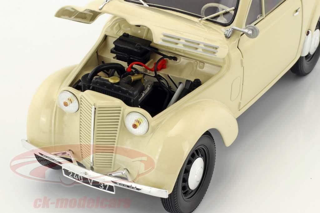 Renault Break 300 kg Juvaquatre Bouwjaar 1951 ivoor 1:18 Norev