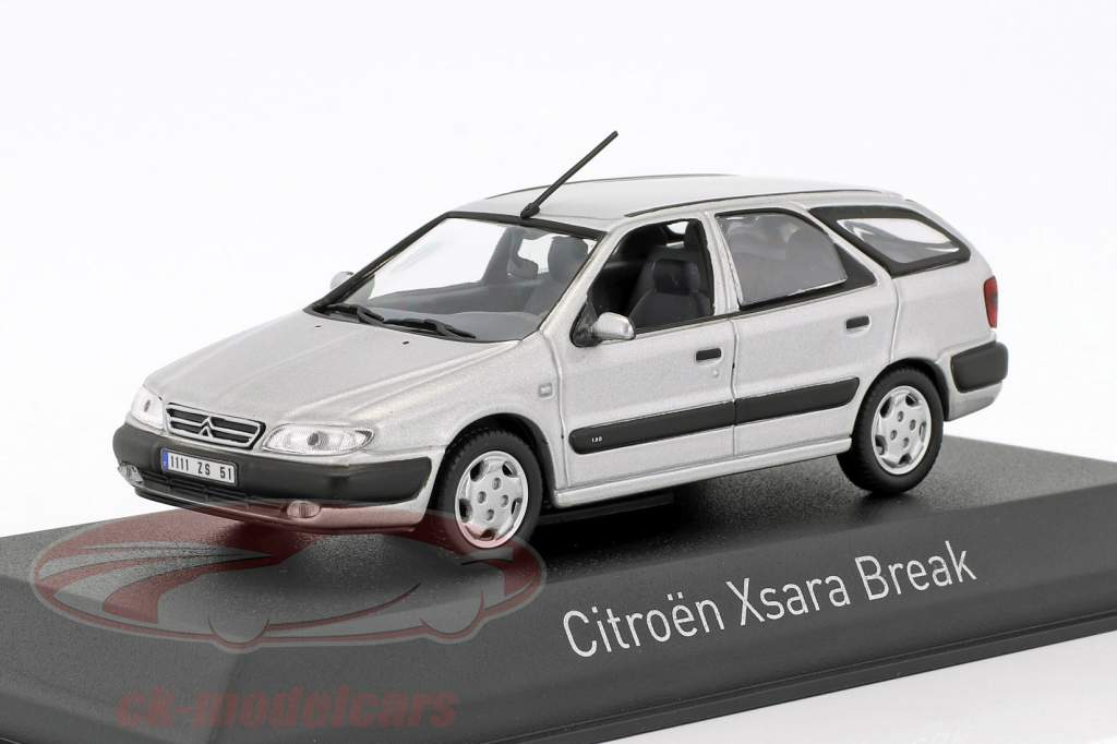 Citroen Xsara Break year 1998 quartz gray 1:43 Norev