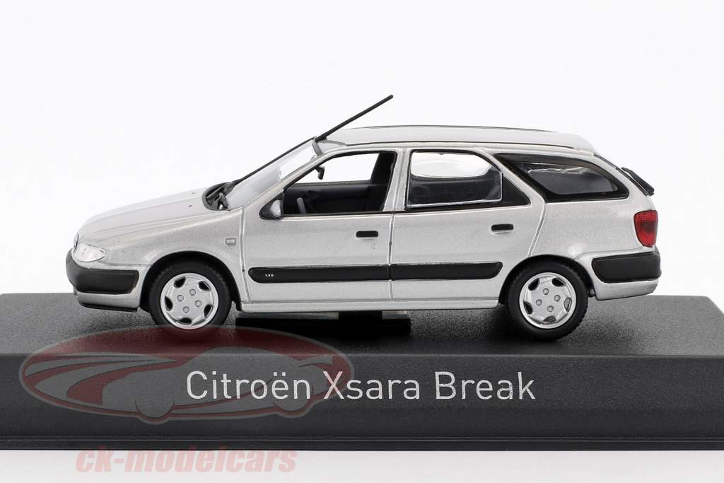 Citroen Xsara Break année de construction 1998 quartz gris 1:43 Norev
