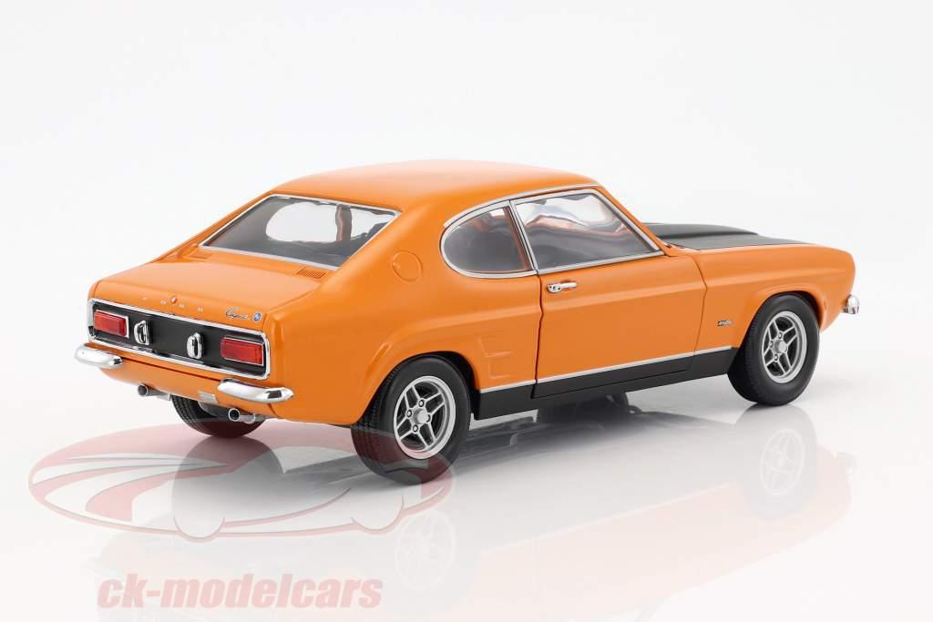 Ford Capri RS 2600 anno di costruzione 1970 arancione / nero 1:18 Minichamps