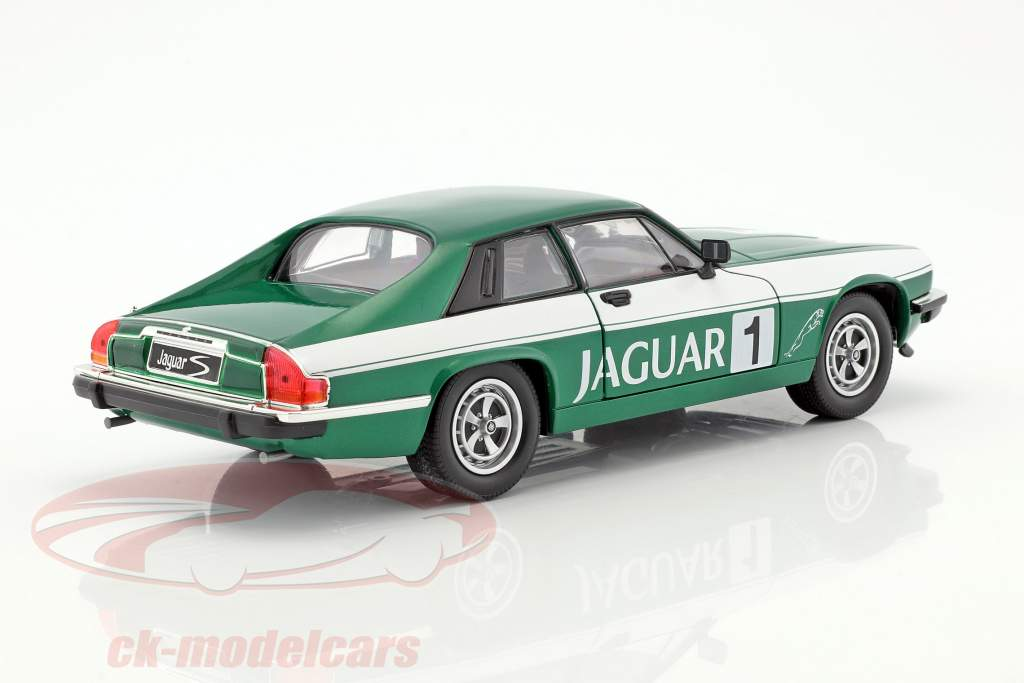 Jaguar XJS #1 vert / blanc 1:18 Lucky DieCast