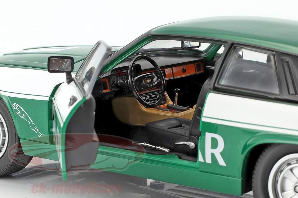 Jaguar XJS #1 verde / branco 1:18 Lucky DieCast