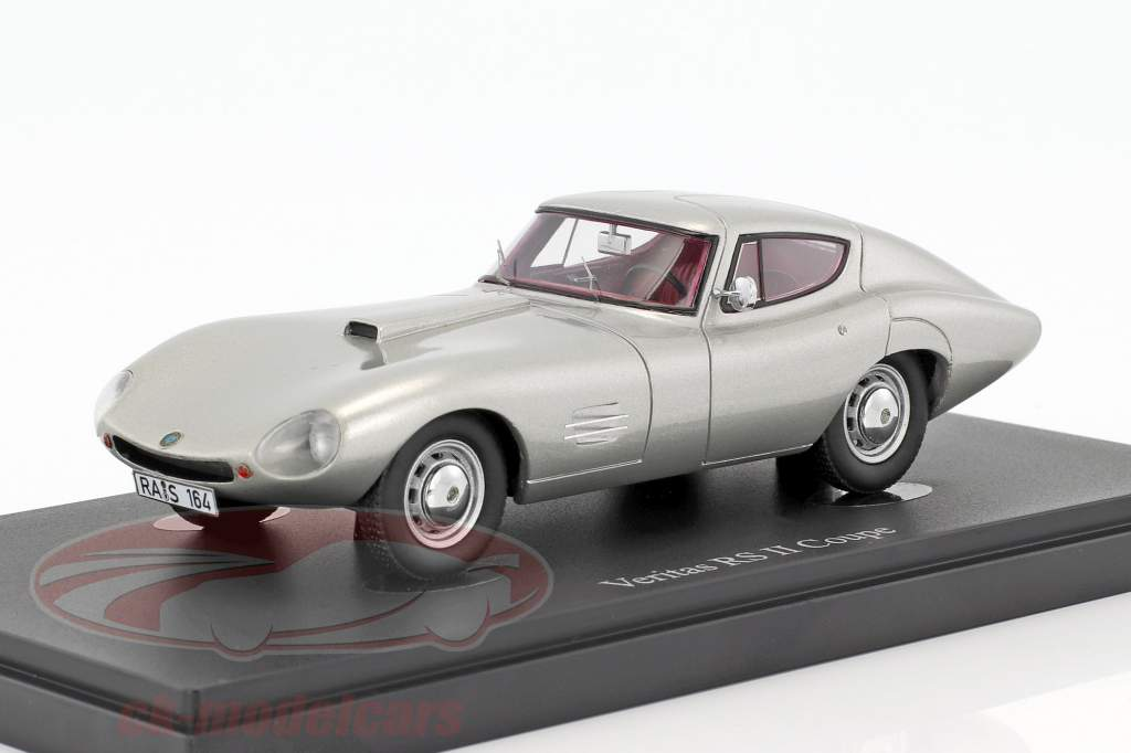 Veritas RS II Coupe year 1953 silver 1:43 AutoCult