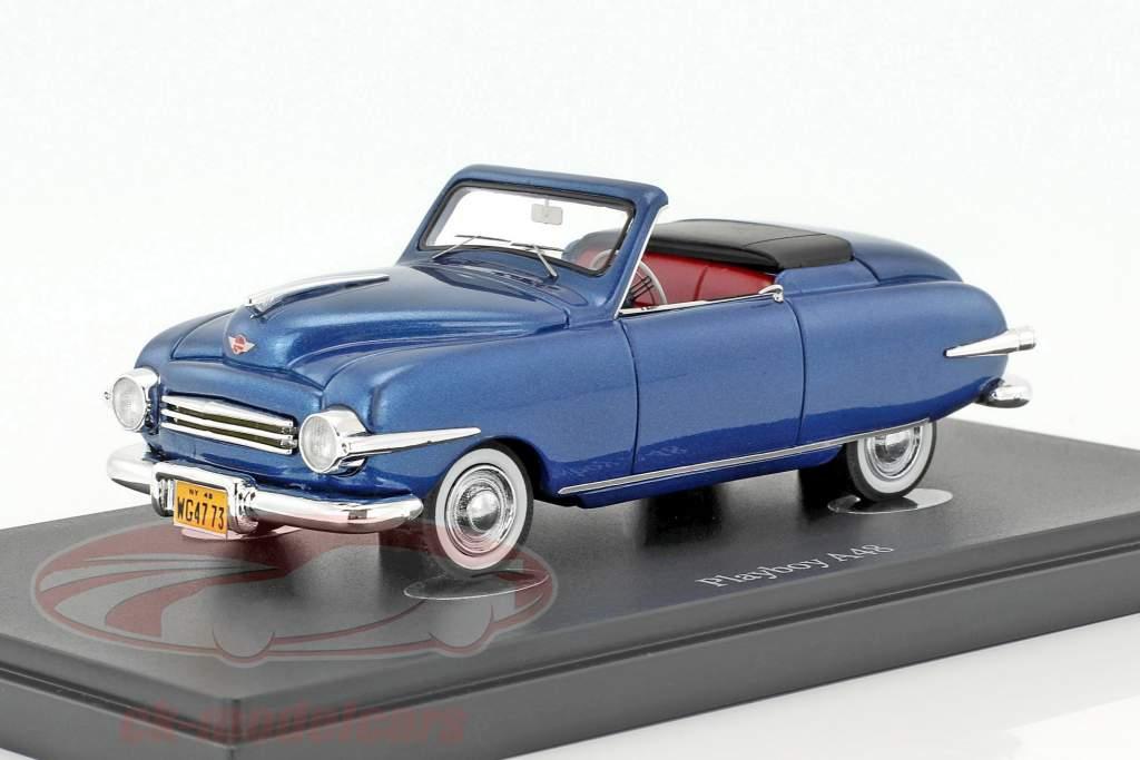Playboy A48 année de construction 1948 bleu 1:43 AutoCult