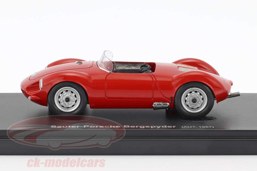 Sauter Porsche Bergspyder year 1957 red 1:43 AutoCult