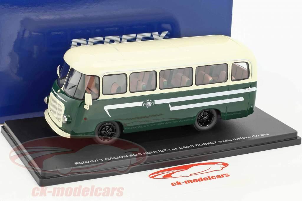 Renault Gallion Bus Heulez Les Cars Buchet green 1:43 Momaco
