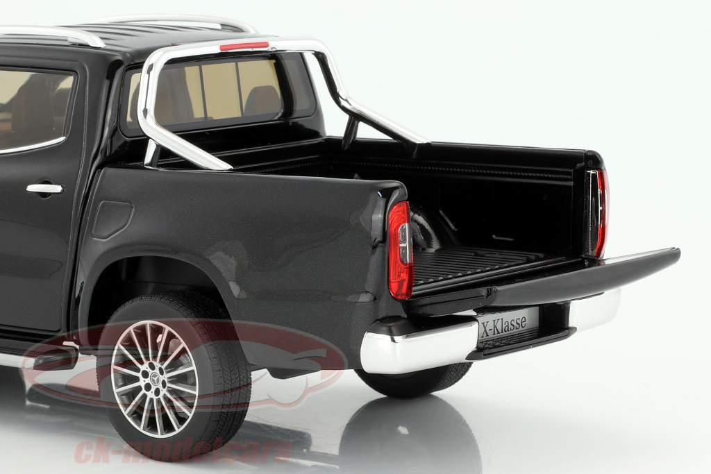 Mercedes-Benz X-Class kabara negro 1:18 Norev