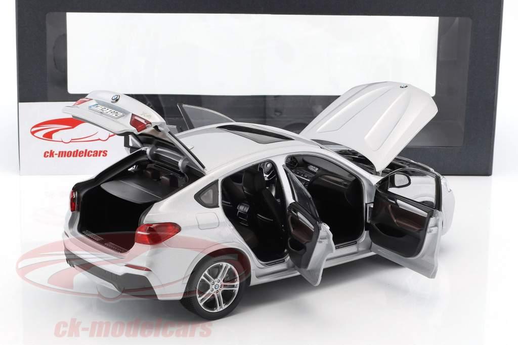 BMW X4 XDRIVE (F26) año de construcción 2014 plata 1:18 Paragon Models