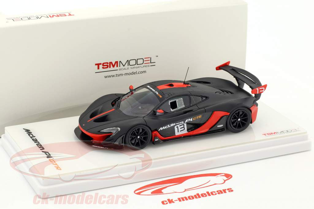 McLaren P1 GTR #13 dark gray / orange 1:43 TrueScale