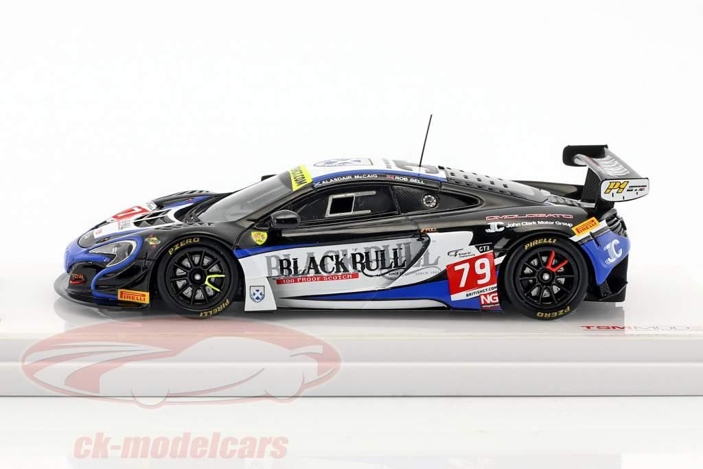 McLaren 650S GT3 #79 gagnant British GT Donington Park 2016 McCaig, Bell 1:43 TrueScale