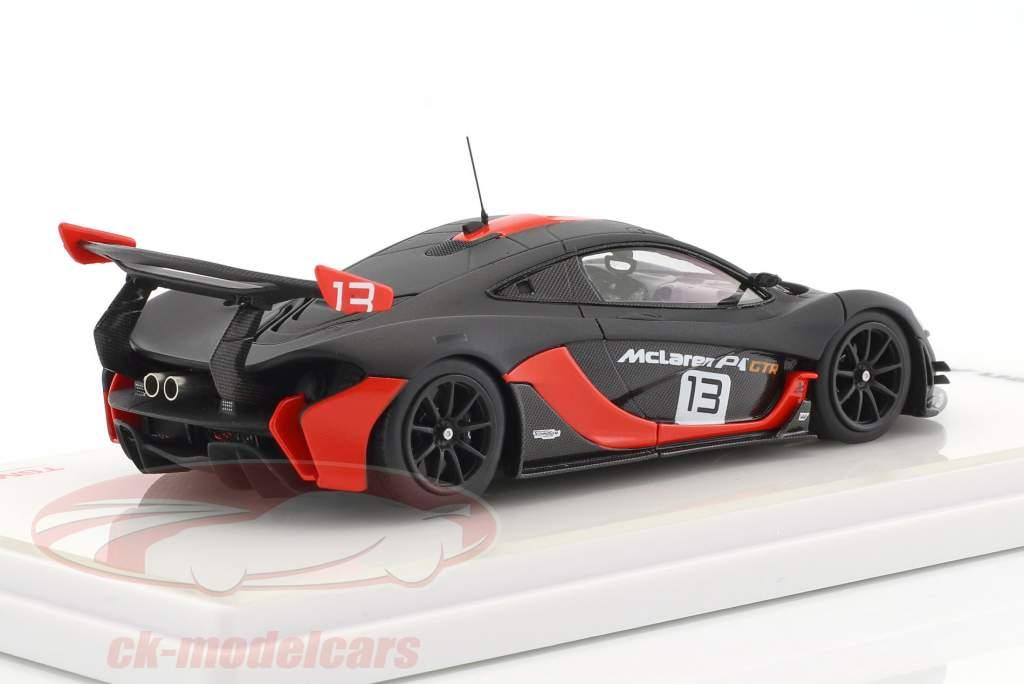 McLaren P1 GTR #13 dunkelgrau / orange 1:43 TrueScale