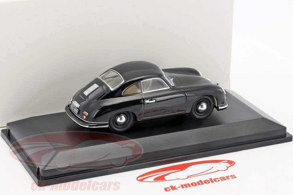 Porsche 356 coupe Ferdinand year 1950 black 1:43 LuckyDieCast