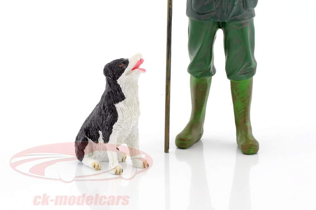Kunde Patrick & Hund 1:18 American Diorama