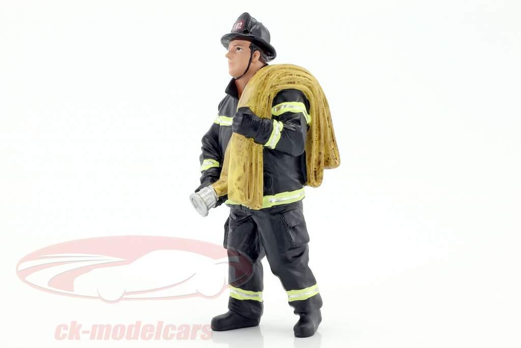 pompiere cifra IV Job Done 1:18 American Diorama