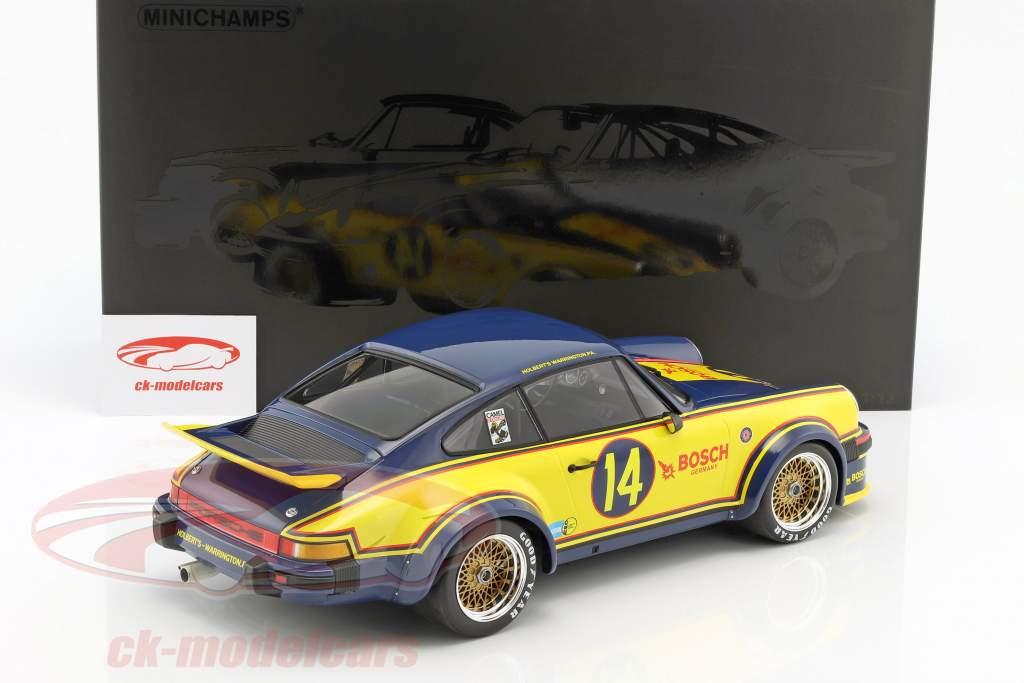 Porsche 934 #14 2nd Mayor's Cup Trois Rivieres 1976 Holbert, Dickinson 1:12 Minichamps