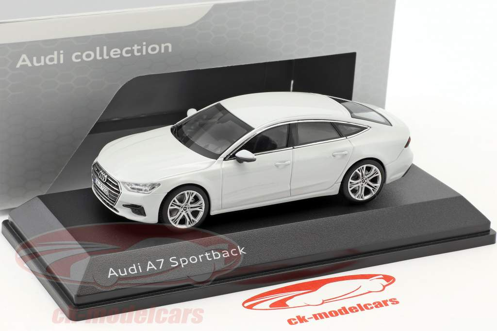 Audi A7 Sportback gletscherweiß 1:43 iScale