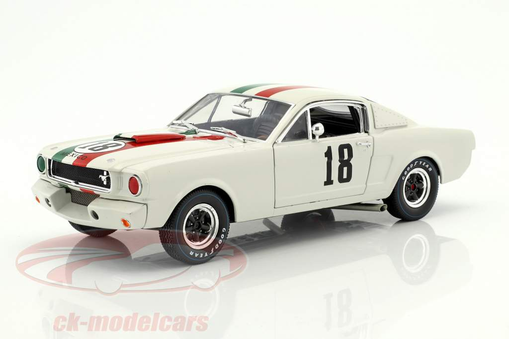 Ford Shelby GT 350R #18 GP Messico 1965 1:18 Shelby Collectibles