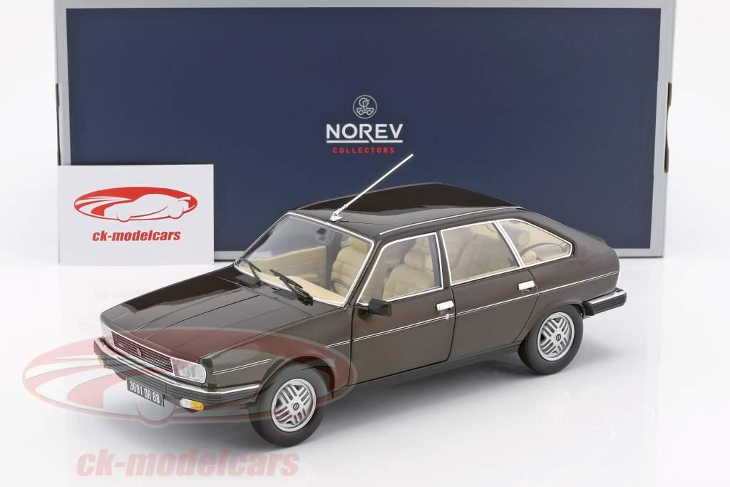 Renault 30 TX year 1981 brown metallic 1:18 Norev