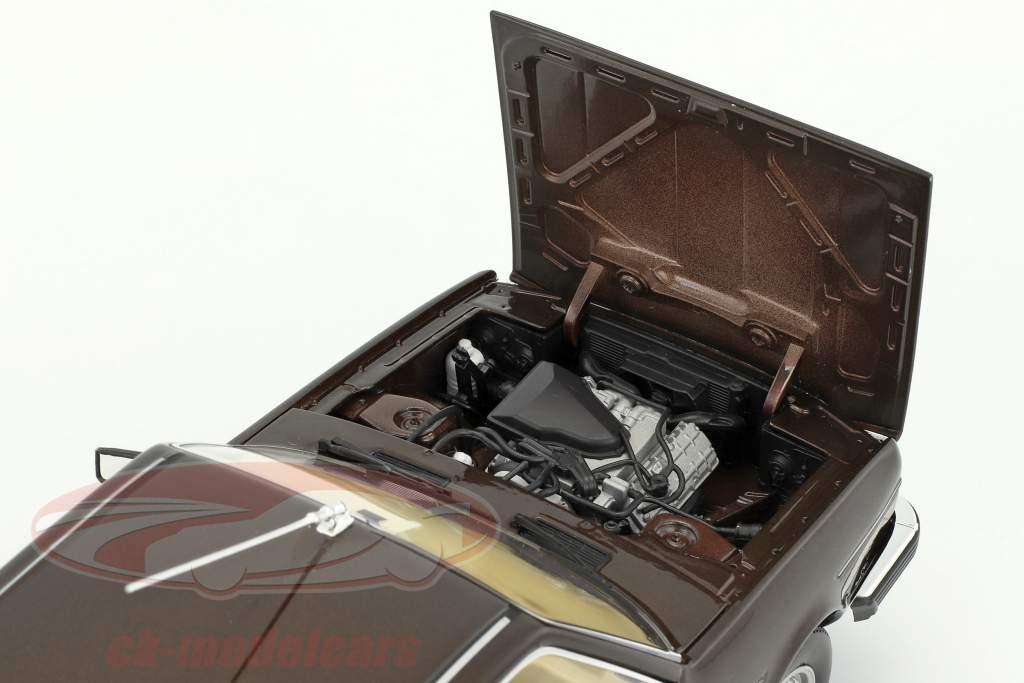 Renault 30 TX Baujahr 1981 braun metallic 1:18 Norev
