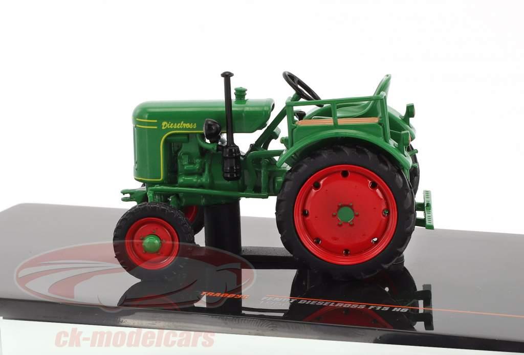 Fendt Dieselross F15 H6 anno di costruzione 1956 verde 1:43 Ixo