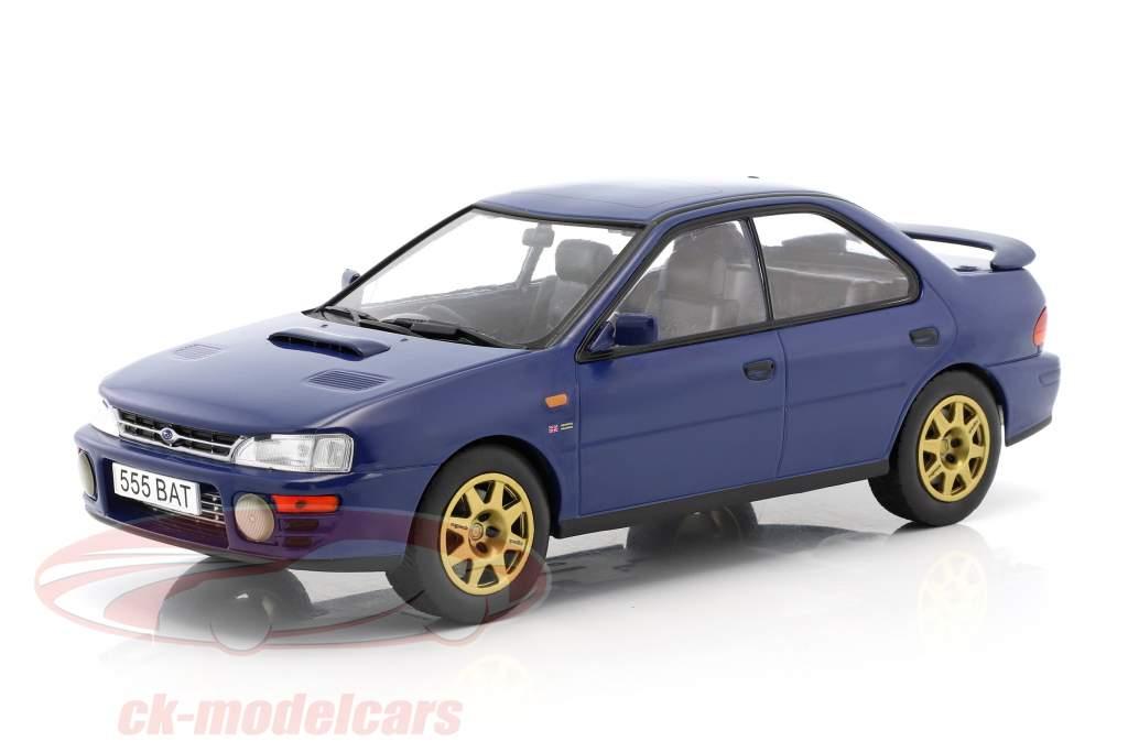 Subaru Impreza WRX RHD anno di costruzione 1995 blu 1:18 Ixo