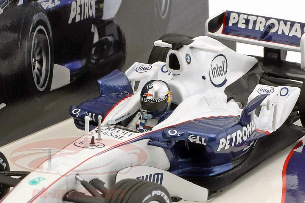 S. Vettel BMW Sauber C24B BMW World Finale Valencia fórmula 1 2006 1:43 Minichamps
