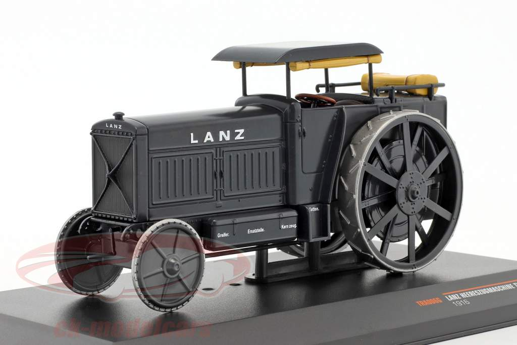 Lanz army tractor Type LD year 1916 gray 1:43 Ixo