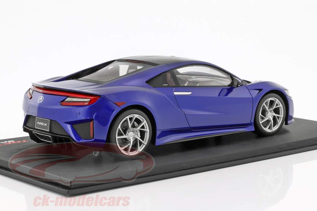 Acura NSX LHD blue 1:18 True Scale