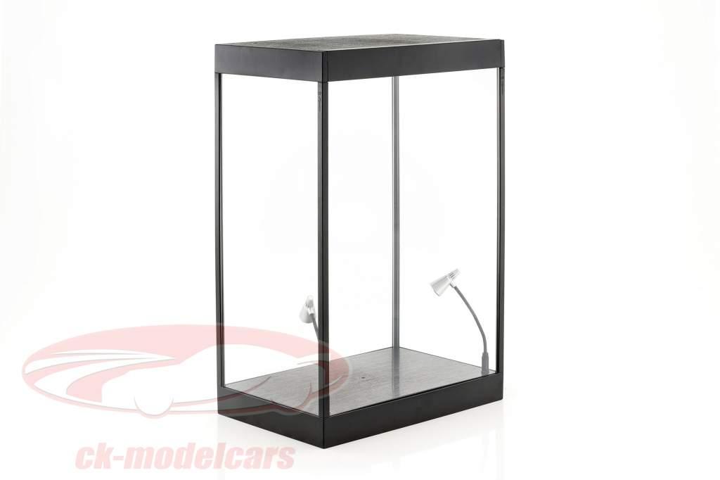 armoire simple avec 2 mobile lampes LED pour chiffres dans le échelle 1:6 Triple9