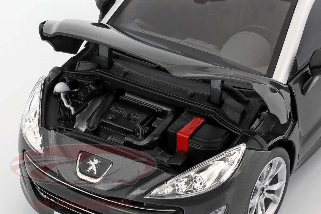 Peugeot RCZ dark gray metallic 1:18 Norev