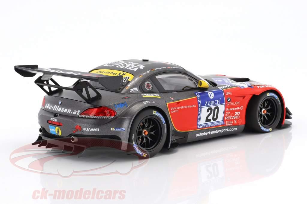 BMW Z4 GT3 #20 24h Nürburgring 2015 Baumann, Hürtgen, Klingmann, Tomczyk 1:18 Minichamps