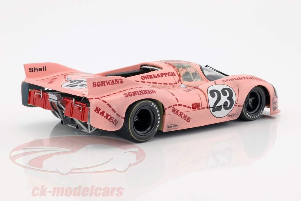 Porsche 917/20 Pink Pig Dirty Version #23 24h LeMans 1971 Kauhsen, Joest 1:18 Minichamps