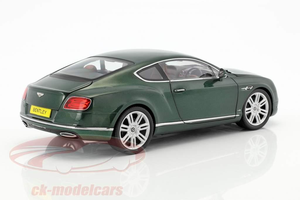 Bentley Continental GT RHD Baujahr 2016 grün 1:18 Paragon Models