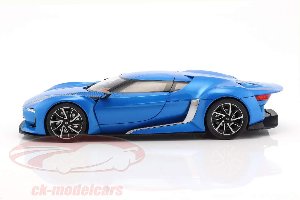 Citroen GT anno di costruzione 2008 blu metallico 1:18 Norev