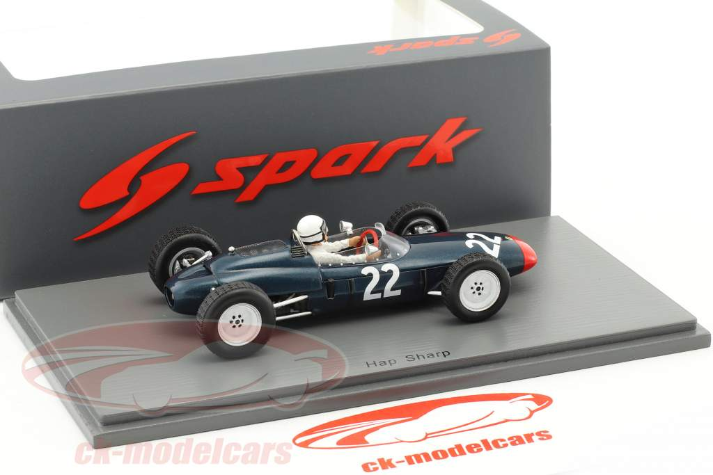 Hap Sharp Lotus 24 #22 Mexique GP formule 1 1963 1:43 Spark
