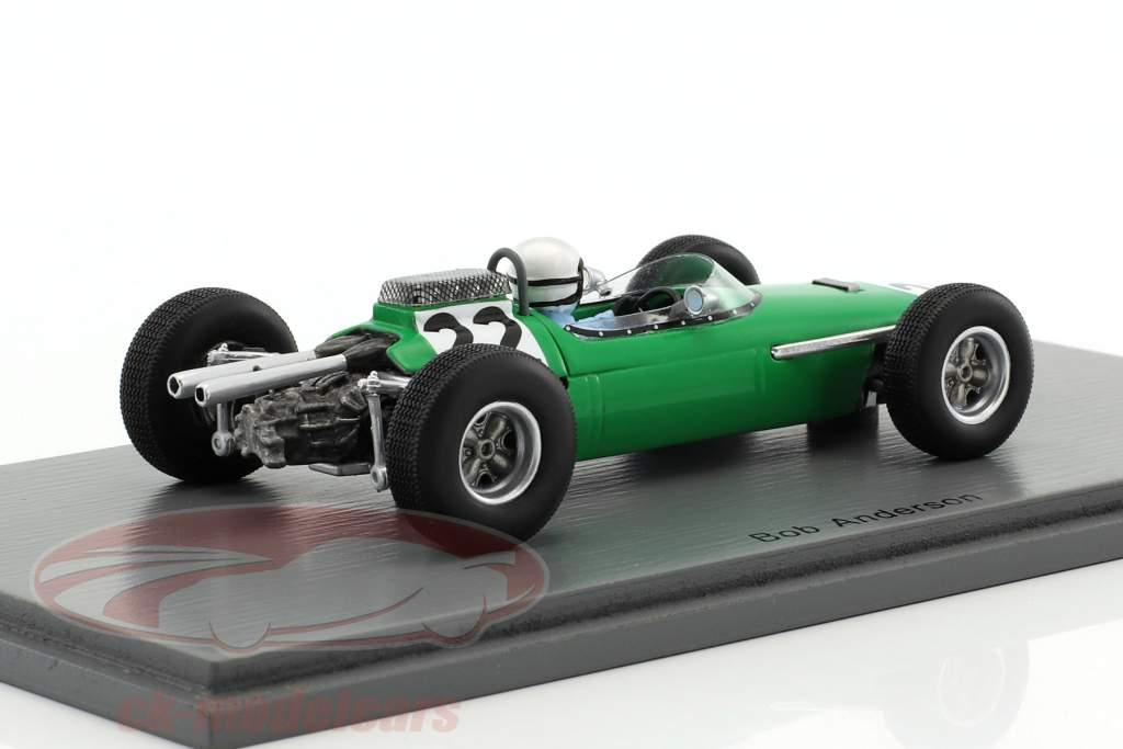 Bob Anderson Brabham BT11 #22 3. Østrig GP formel 1 1964 1:43 Spark