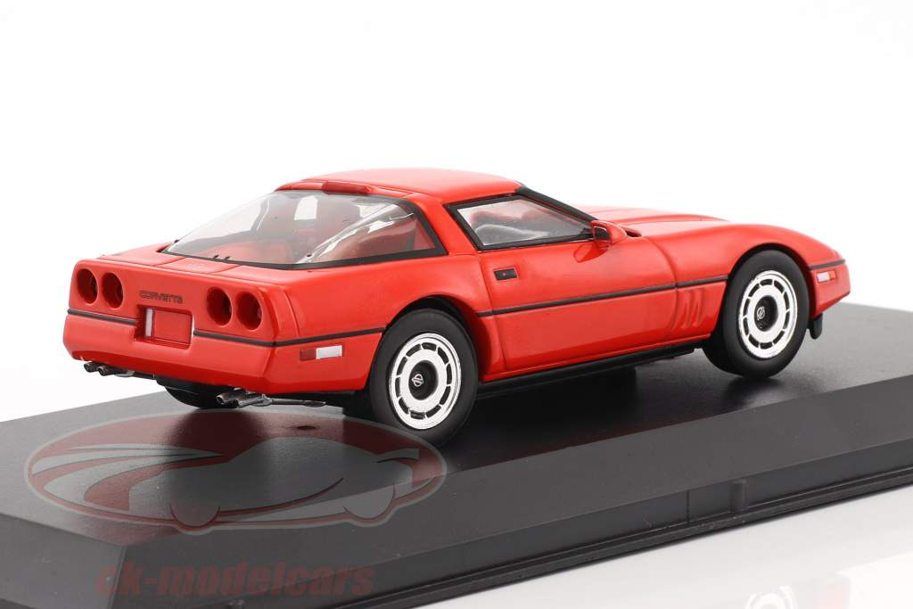 Larry Sellers' Chevrolet Corvette C4 anno di costruzione 1985 film The Big Lebowski (1998) rosso 1:43 Greenlight