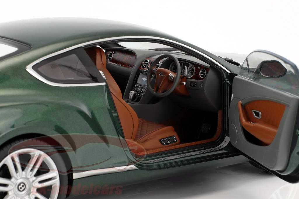 Bentley Continental GT RHD Construction year 2016 green 1:18 Paragon Models