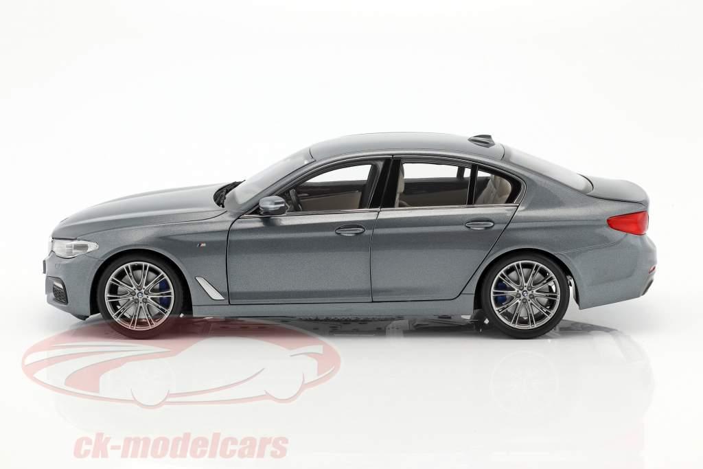 BMW 5 Series (G30) sedan Bouwjaar 2017 arduin metalen 1:18 Kyosho