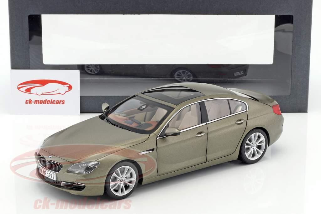 BMW 650i GT 6-Series Gran Coupe bronze métallique 1:18 ParagonModels