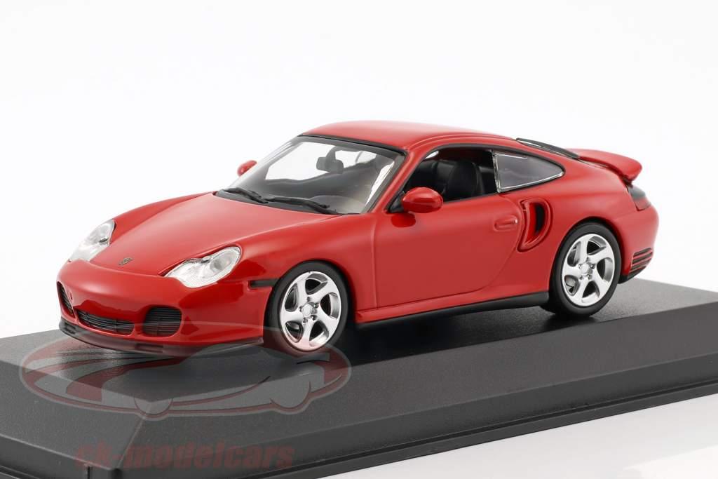 Porsche 911 (996) Turbo année de construction 1999 rouge 1:43 Minichamps
