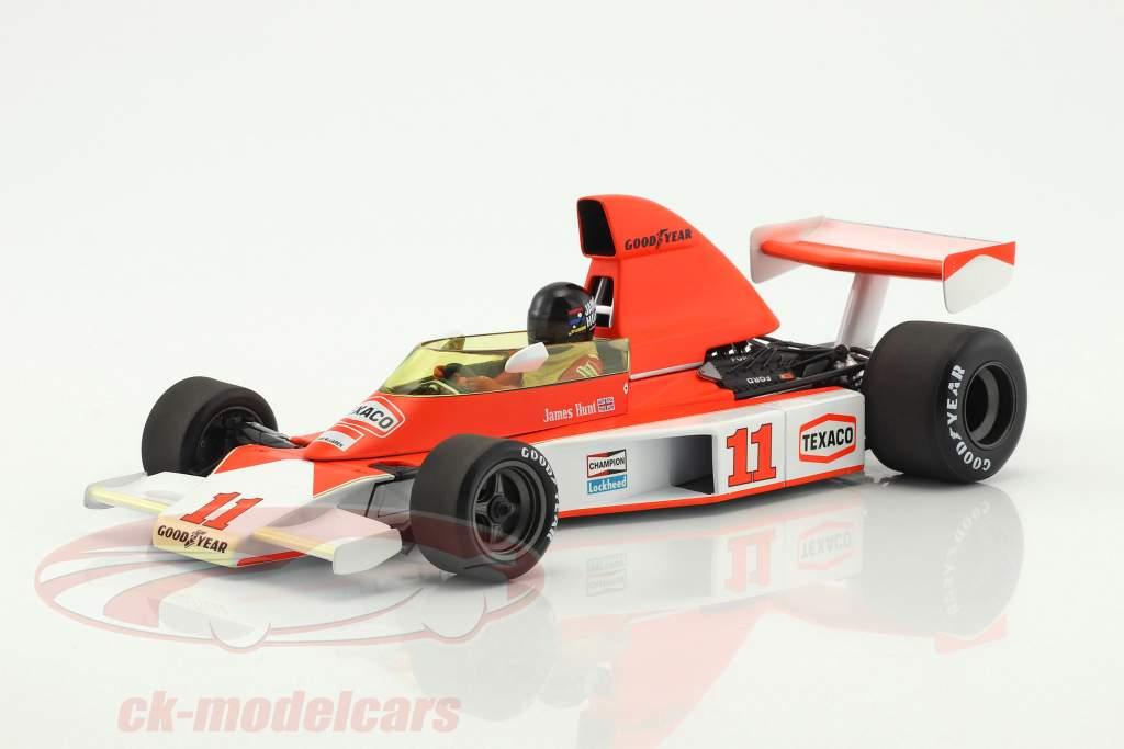 James Hunt McLaren M23 #11 2e Afrique du sud GP Champion du monde F1 1976 1:18 Minichamps