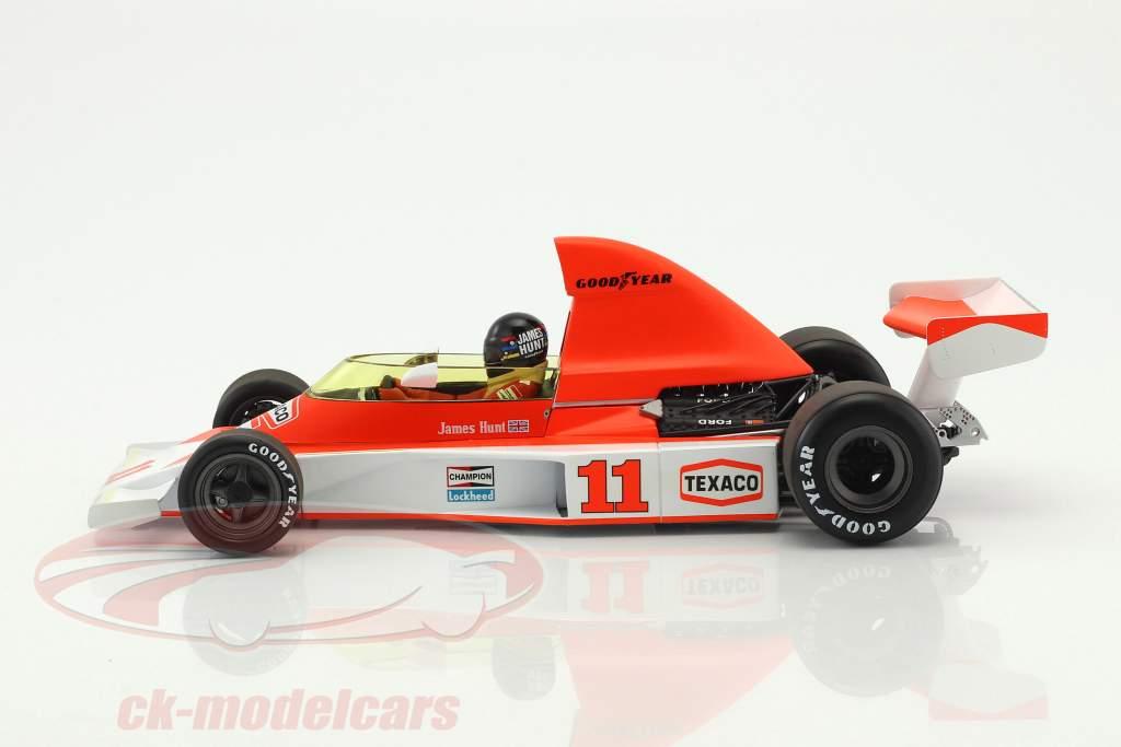 James Hunt McLaren M23 #11 2nd South Africa GP World Champion F1 1976 1:18 Minichamps