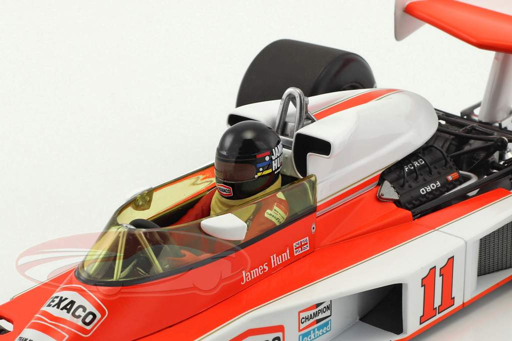 James Hunt McLaren M23 #11 campione del mondo formula 1 1976 1:18 Minichamps