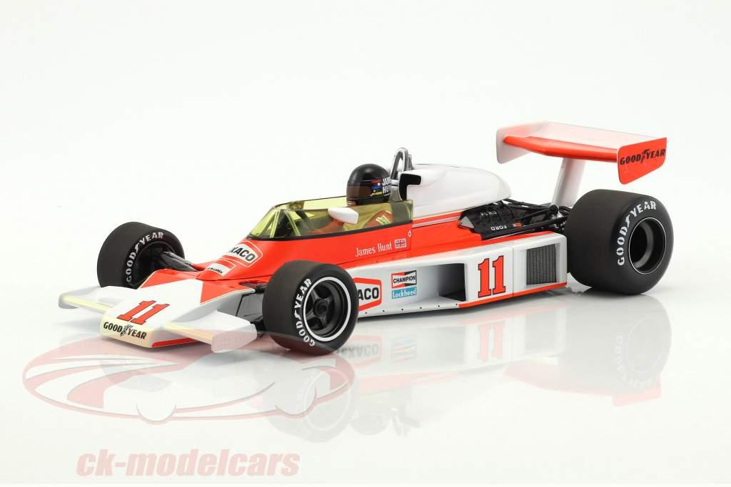 James Hunt McLaren M23 #11 champion du monde formule 1 1976 1:18 Minichamps