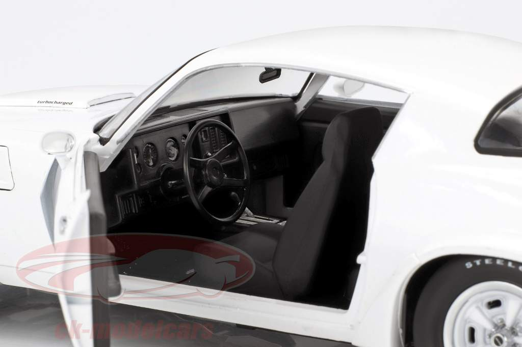 Chevrolet Z28 Yenko Turbo Z année de construction 1981 blanc 1:18 Greenlight