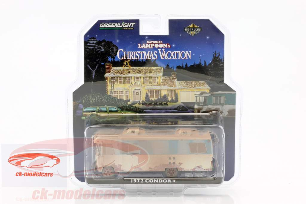 Condor II RV année de construction 1972 film National Lampoon's Christmas Vacation (1989) 1:64 Greenlight