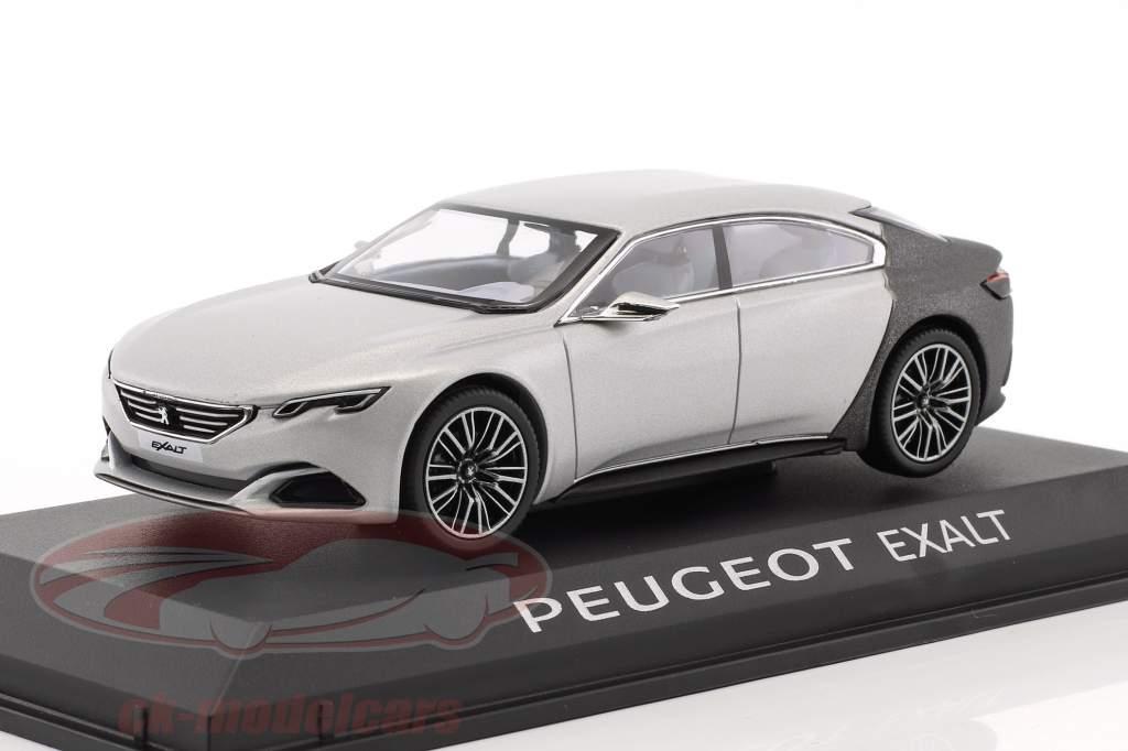 Peugeot Exalt concept voiture Salon de Paris 2014 argent / gris 1:43 Norev
