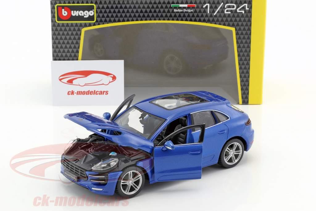Porsche Macan blau 1:24 Bburago