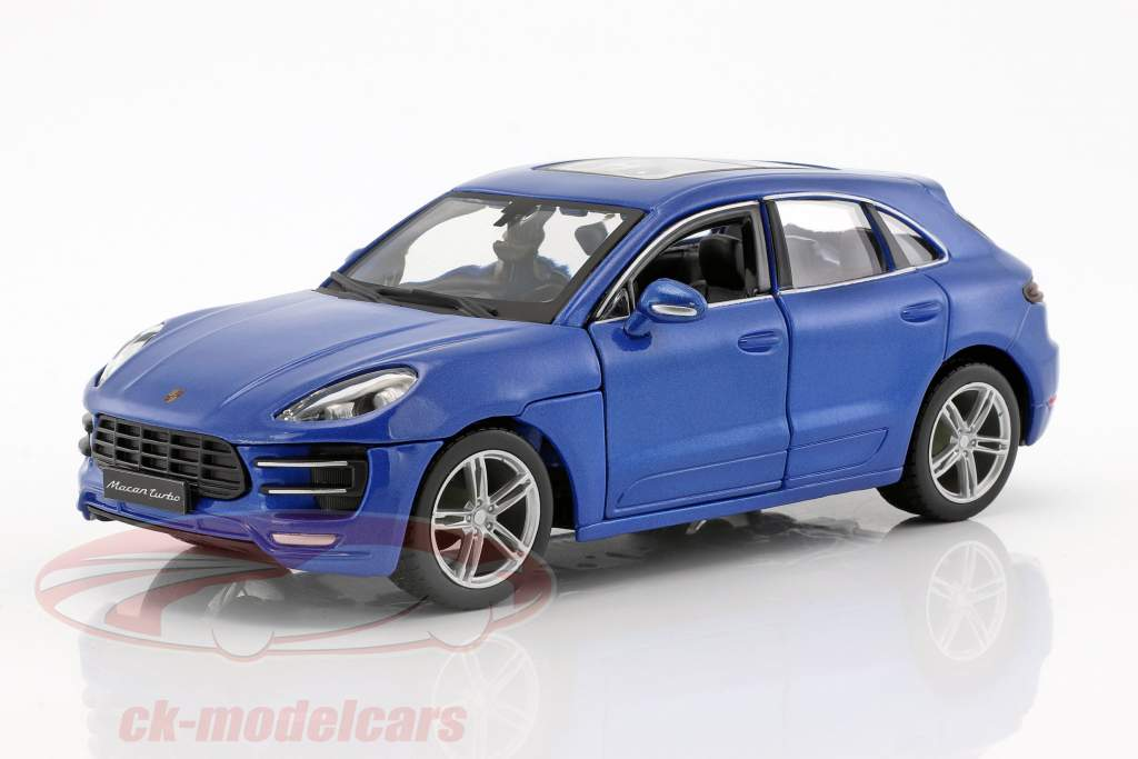 Porsche Macan blue 1:24 Bburago
